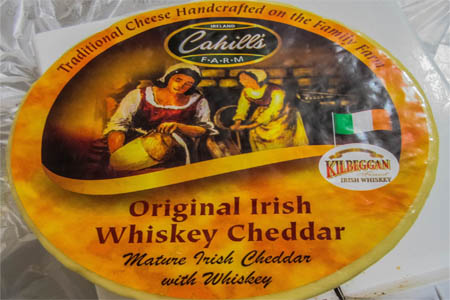 cahill's iris whiskey cheddar